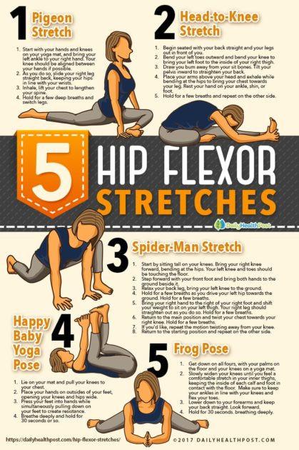 5 Hip Flexor Stretches