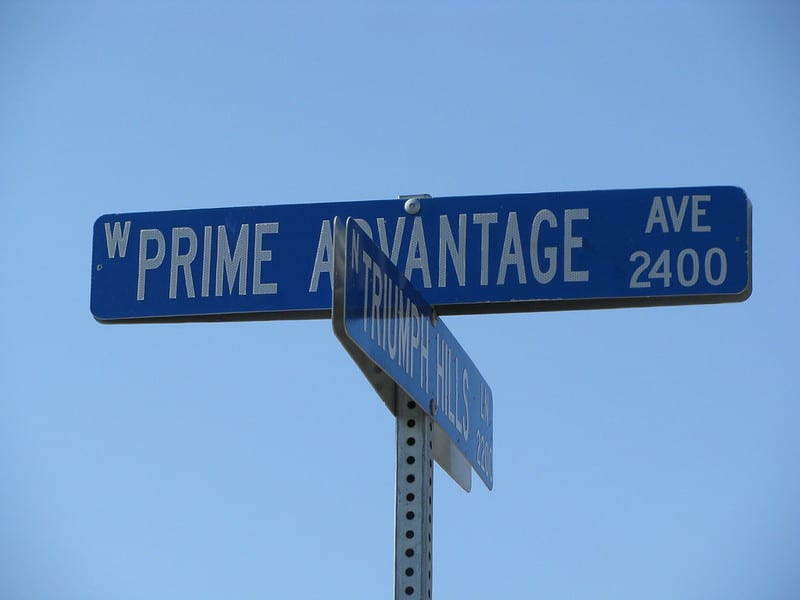 Road Sign - Prime Advantage