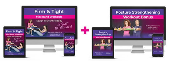 The Firm and Tight Mini Band Workout Program Plus Bonus