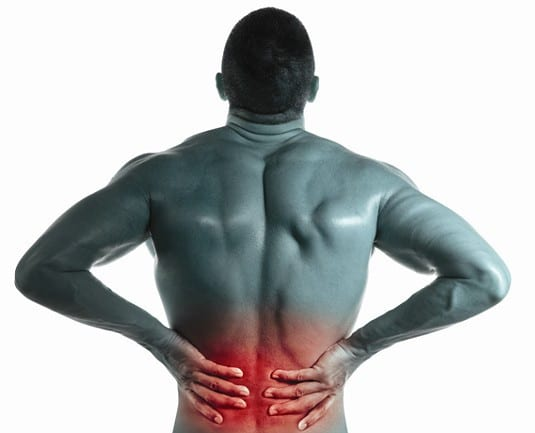 A Man Experiencing Lower Back Pain