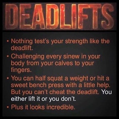 Nothing Tests Your Strength Like Deadlifts, Plus it Looks Incredible