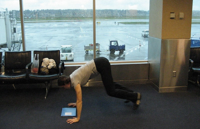 A Person Doing Burpees