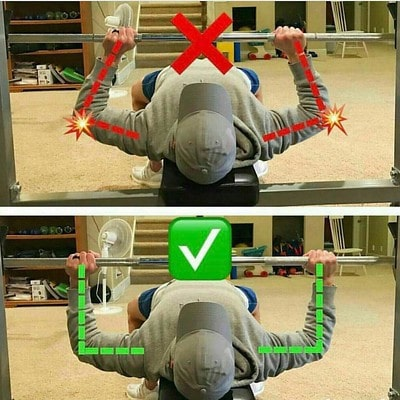 Correct Hand Position For The Bench Press