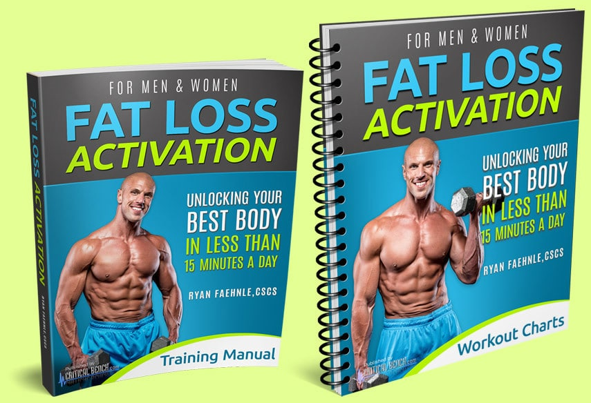Fat Loss Activation Training Manual and Workout Charts