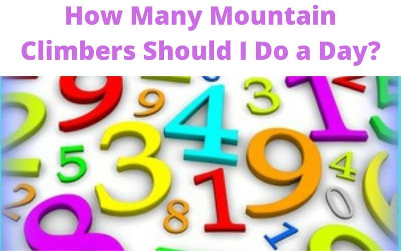 How Many Mountain Climbers Should I Do a Day?