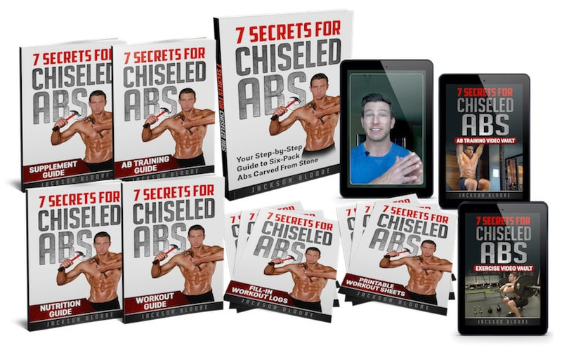 The 7 Secrets For Chiseled Abs Main Program