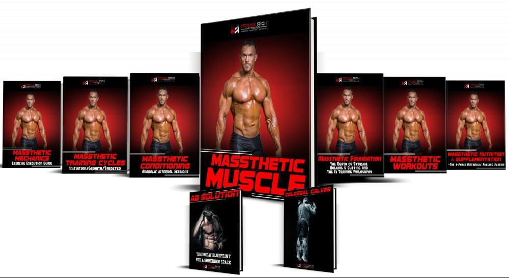 The Massthetic Muscle Program and Bonuses