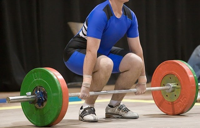 A Person Performing a Deadlift