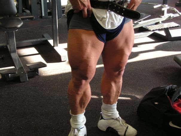 A Very Muscular Pair of Legs